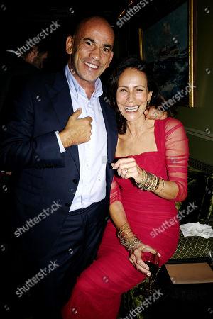 Stock Photo of Guy Dellal and Andrea Dellal