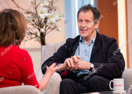 Lorraine Kelly and Monty Don