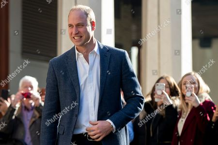 Prince William visits Mental Health and Wellbeing projects, London