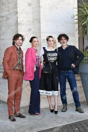 Editorial picture of 'Un'avventura' film photocall, Rome, Italy - 13 Feb 2019