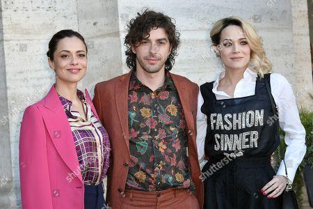 Valeria Bilello, Michele Riondino, Laura Chiatti