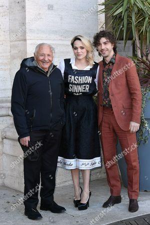 Giulio Rapetti Mogol, Laura Chiatti, Michele Riondino