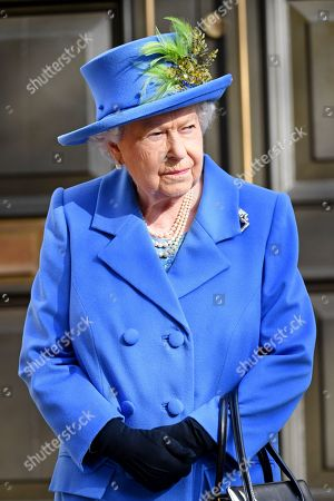 Queen Elizabeth II visit to Watergate House, London