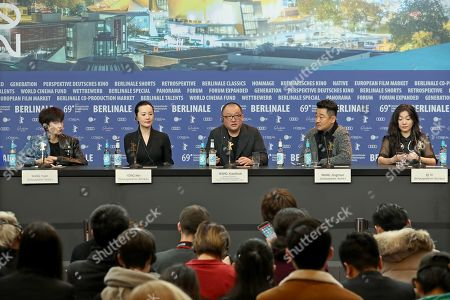 Editorial image of So Long, My Son Press Conference ? 69th Berlin Film Festival, Germany - 14 Feb 2019