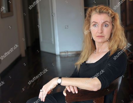Editorial photo of Rebecca Solnit in Rome, Italy - 28 Sep 2009