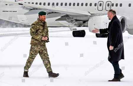 Prince Harry visit to Norway