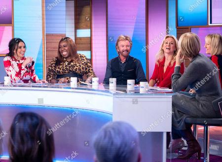 Editorial image of 'Loose Women' TV show, London, UK - 14 Feb 2019