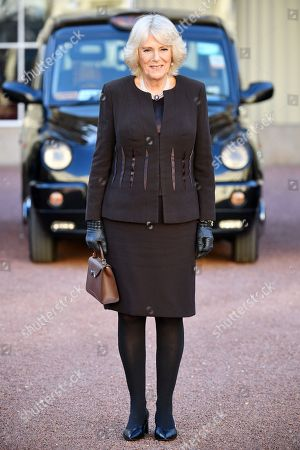 Camilla Duchess of Cornwall hosts Taxi Drivers' Charity for Children reception, London