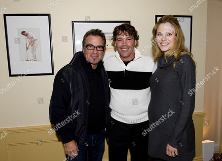 Tico Torres with Clay Walker and wife Jessica Walker