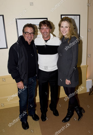 Tico Torres with Clay and Jessica Walker