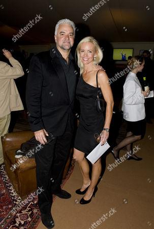 Stock Photo of John O'Hurley and wife Lisa Mesloh