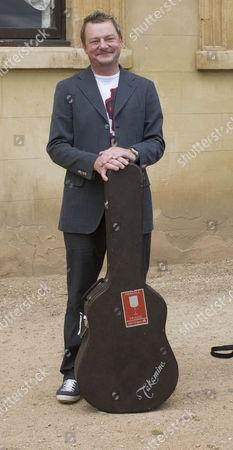 Bill Padley who sung at the service