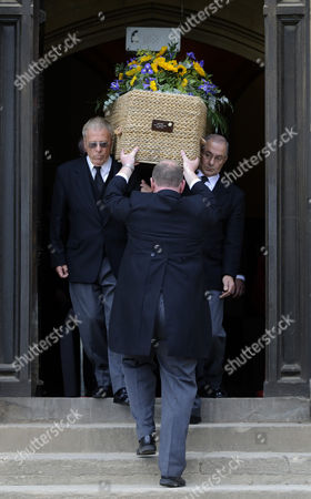 Editorial image of The funeral of celebrity chef Keith Floyd at Ashton Court, Bristol, Britain - 30 Sep 2009