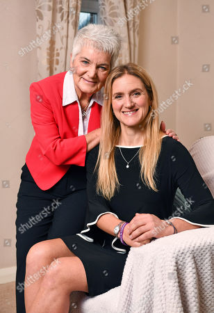 Jean Leadbeater With Their Daughter Kim. - At Home With The Family Of Murdered MP Jo Cox Roberttown West Yorkshire18/1/18nfor Femail -.