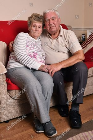 Marilyn Payne 72 And John Payne Parents Of Nicola Payne Pictured At Their Home In Coventry. - Family Of Murdered Nicola Payne Who Went Missing While Walking Across Wasteland Near Her Parents' House In Coventry West Midlands On 14 December 1991.Camber - 22/1/18.