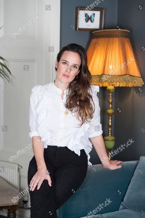 Stock Photo of Jess Mills Photographed At Home In London. Jess Is The Daughter Of Tessa Jowell. For Frances Hardy Interview.