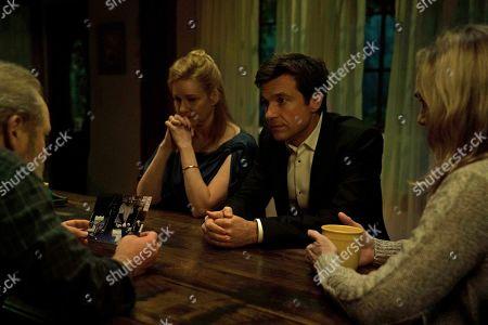 Peter Mullan as Jacob Snell, Laura Linney as Wendy Byrde, Jason Bateman as Martin 'Marty' Byrde and Lisa Emery as Darlene Snell