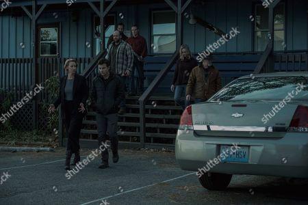 Janet McTeer as Helen Pierce, Jason Bateman as Martin 'Marty' Byrde, Michael Tourek as Ash, Lisa Emery as Darlene Snell and Peter Mullan as Jacob Snell