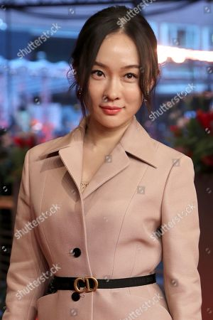 Stock Picture of Huo Siyan arrives for the premiere of 'So Long, My Son' (Di jiu tian chang) during the 69th annual Berlin Film Festival, in Berlin, Germany, 14 February 2019. The movie is presented in the Official Competition at the Berlinale that runs from 07 to 17 February.