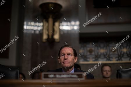 Democratic Senator of Connecticut Richard Blumenthal listens to testimony at the US Senate Armed Services Committee in the Dirksen Senate Office Building at the US Capitol in Washington, DC, USA, 14 February 2019. The committee was reviewing the Defense Authorization Request for fiscal year 2020 and the Future Years Defense Program.