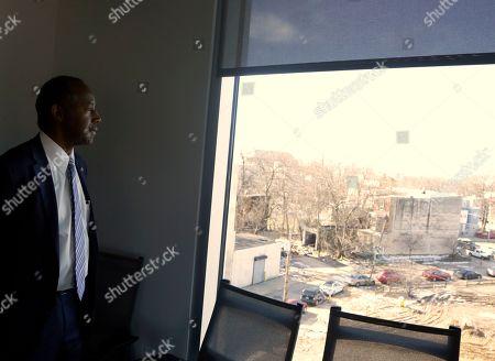 Ben Carson Philadelphia Housing Authority Stock Photos