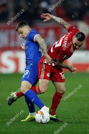 Editorial image of Soccer Europa League, Piraeus, Greece - 14 Feb 2019