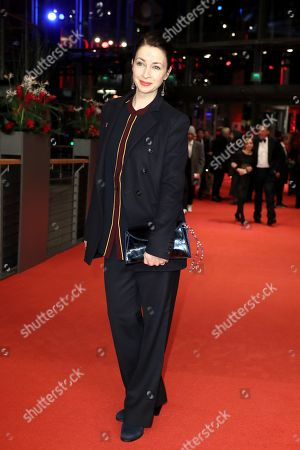 Loretta Stern arrives for the Honorary Golden Bear Gala of the 69th annual Berlin International Film Festival in Berlin, Germany, 14 February 2019. The Berlinale runs from 07 to 17 February.