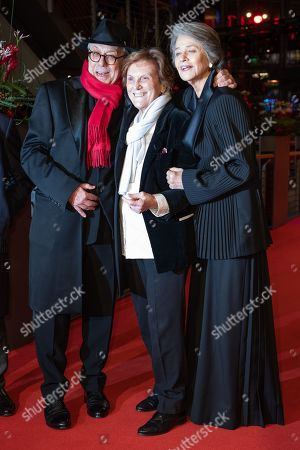 Festival Director Dieter Kosslick, Italian director Liliana Cavani, and Charlotte Rampling arrives for the Honorary Golden Bear Gala of the 69th annual Berlin International Film Festival in Berlin, Germany, 14 February 2019. The Berlinale runs from 07 to 17 February.
