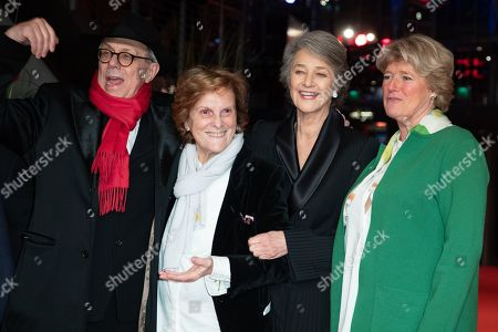 Festival Director Dieter Kosslick, Italian director Liliana Cavani, Charlotte Rampling, and Monika Gruetters arrive for the Honorary Golden Bear Gala of the 69th annual Berlin International Film Festival in Berlin, Germany, 14 February 2019. The Berlinale runs from 07 to 17 February.
