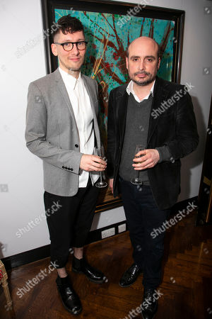 Stock Image of Tom Scutt (Director) and Peter Strickland (Original Screenplay)
