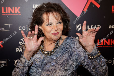 Italian actress Claudia Cardinale arrives at the 'Bal ParAmour' or Paramour ball, a charity event to celebrate love and support the fight against AIDS, at the City Hall of Paris, France, 14 February 2019, on Valentine?s Day. Organised by LINK endowment fund, this dance party is inspired by Vienna's Life Ball, one of the most important charity events in Europe.