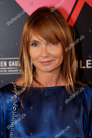 French actress Axelle Laffont arrives at the 'Bal ParAmour' or Paramour ball, a charity event to celebrate love and support the fight against AIDS, at the City Hall of Paris, France, 14 February 2019, on Valentine?s Day. Organised by LINK endowment fund, this dance party is inspired by Vienna's Life Ball, one of the most important charity events in Europe.