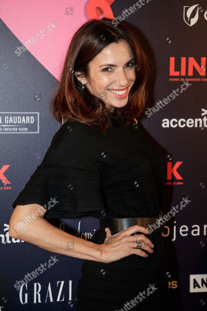 French actress Aure Atika arrives at the 'Bal ParAmour' or Paramour ball, a charity event to celebrate love and support the fight against AIDS, at the City Hall of Paris, France, 14 February 2019, on Valentine?s Day. Organised by LINK endowment fund, this dance party is inspired by Vienna's Life Ball, one of the most important charity events in Europe.