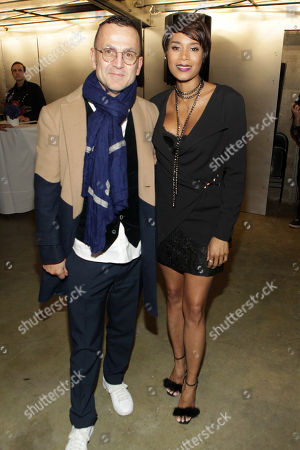 Steven Kolb President of CFDA Council for Fashion Design and Designer Aisha Mcshaw