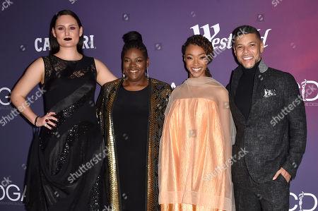 Mary Chieffo, Gersha Phillips, Sonequa Martin-Green and Wilson Cruz
