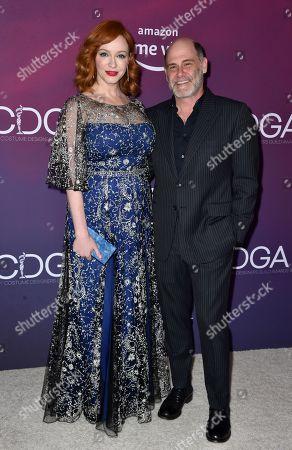 Christina Hendricks and Matthew Weiner