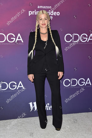 Editorial photo of 21st Costume Designers Guild Awards, Arrivals, The Beverly Hilton, Los Angeles, USA - 19 Feb 2019