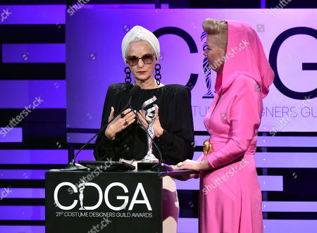 Lou Eyrich and Allison Leach - Excellence in Contemporary Television - 'The Assassination of Gianni Versace: American Crime Story'