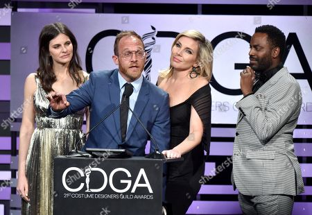 Lindsey Kraft, Ethan Embry, June Diane Raphael and Baron Vaughn