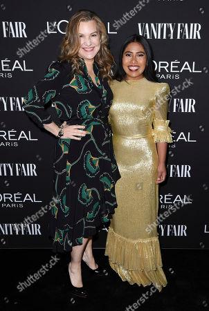 Stock Photo of Krista Smith and Yalitza Arapaicio
