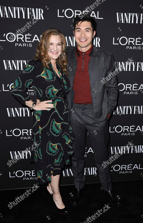Krista Smith and Henry Golding