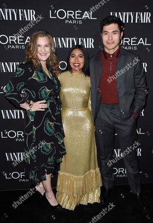Krista Smith, Yalitza Arapaicio and Henry Golding