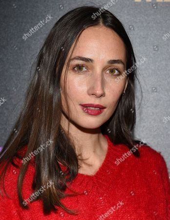 "Rebecca Dayan attends a special screening of ""Mapplethorpe"", hosted by The Cinema Society, at Cinepolis Chelsea, in New York"
