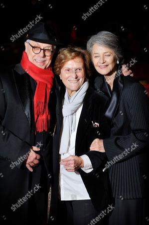 Dieter Kosslick, Liliana Cavani und Charlotte Rampling