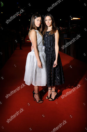 Stock Image of Federica Delsale und Ludovica Frasca