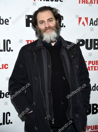 """Michael Stuhlbarg attends the """"Sea Wall / A Life"""" opening night at The Public Theater, in New York"""