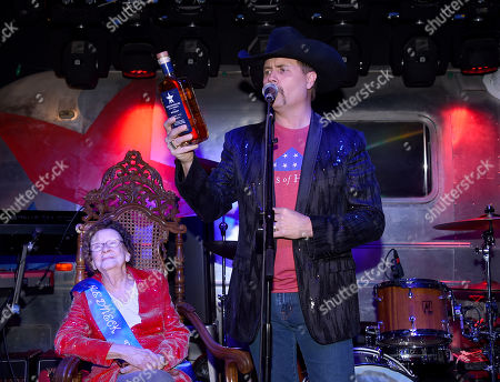 Stock Picture of Granny Rich and John Rich