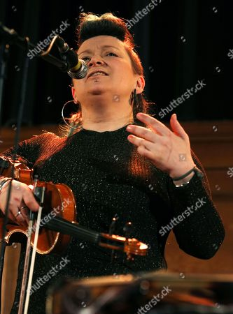 Editorial image of Eliza Carthy in concert, Cecil Sharp House, Camden, London, UK - 14 Feb 2019