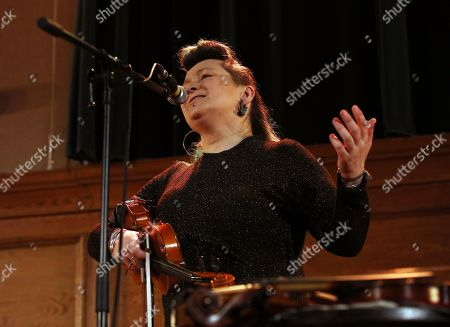 Editorial picture of Eliza Carthy in concert, Cecil Sharp House, Camden, London, UK - 14 Feb 2019