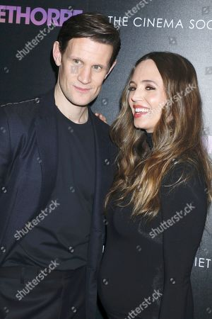 Matt Smith and Eliza Dushku